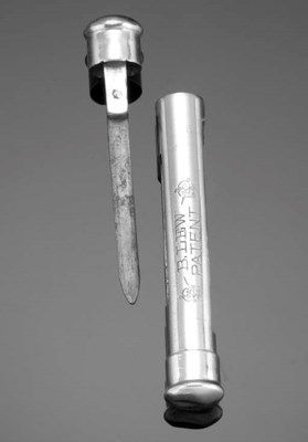 A LEW'S 1877 TWO-PRONG EXTRACT
