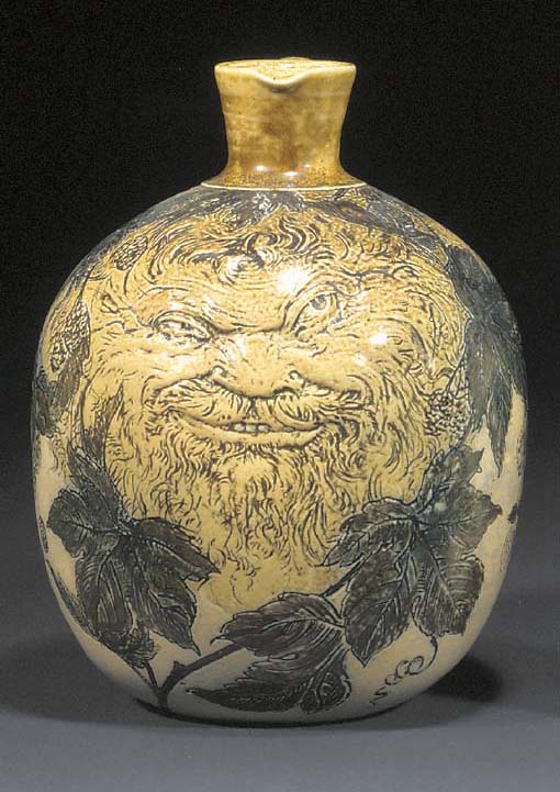 A STONEWARE JUG by the Martin