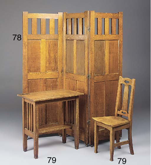 AN OAK SCREEN
