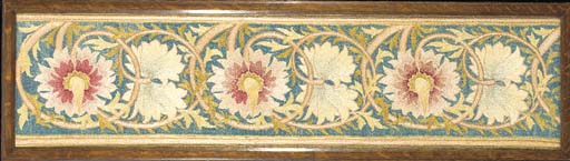 AN EMBROIDERED PANEL