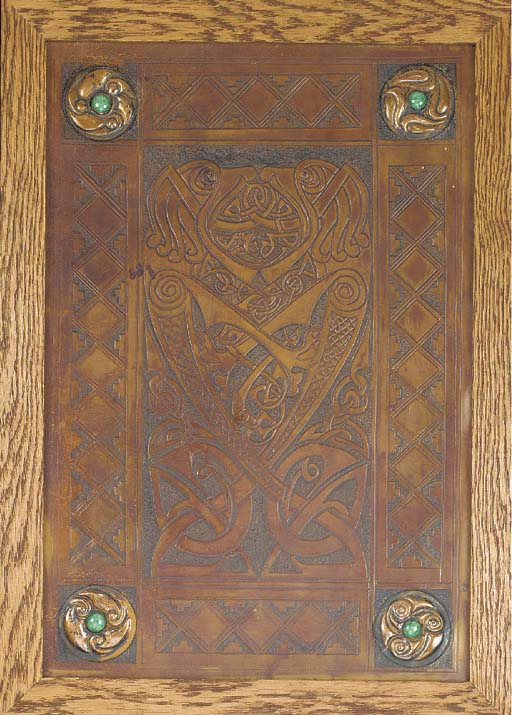 A CELTIC TOOLED LEATHER AND CO