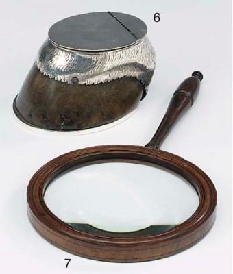 A large rosewood framed magnif