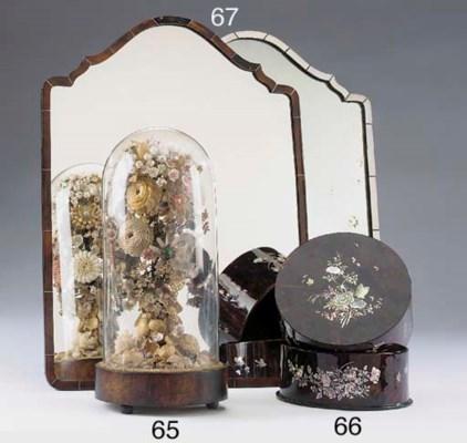 A late Victorian shellwork dis