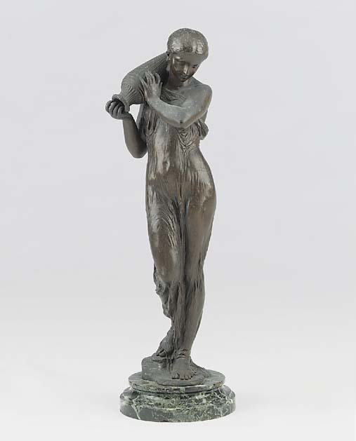 A French bronze of a classical