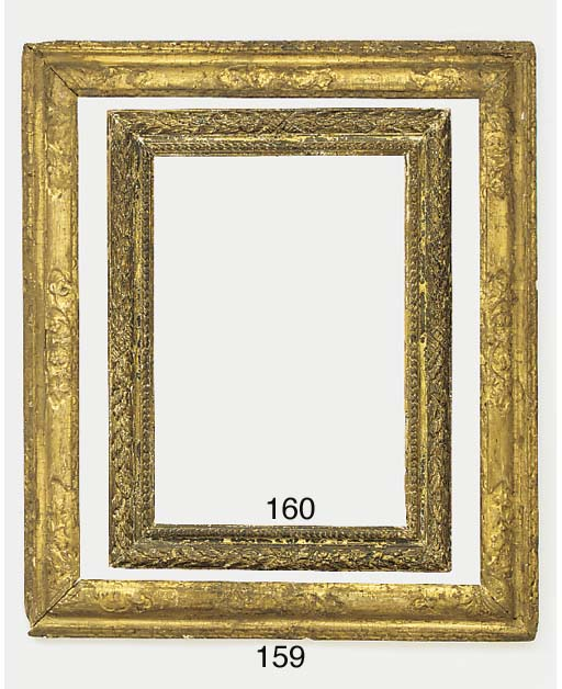 A gilded moulding frame, 20th