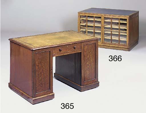 A George IV mahogany kneehole
