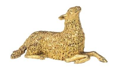A South German gilt bronze mod