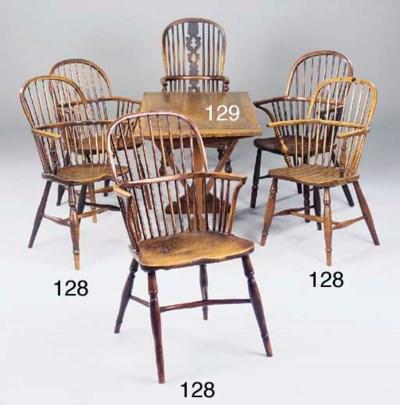 A matched set of five Windsor