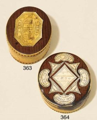 An English cedarwood and bone