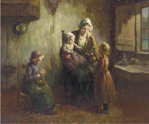 B. de Hous, 19th/20th Century