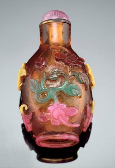 A four colour overlay amber gl