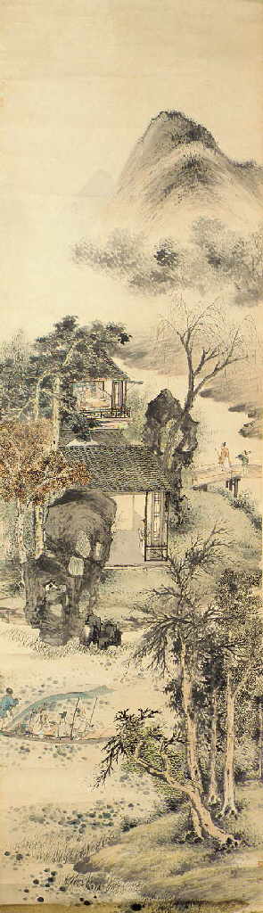 A hanging scroll 19th century