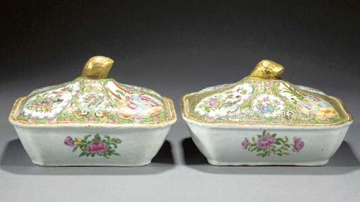 A pair of Cantontese shaped re