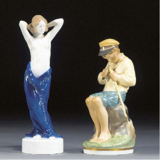 A Rosenthal porcelain figure