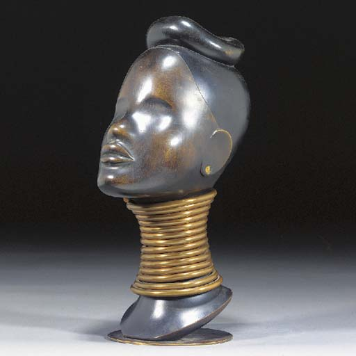 A PATINATED COPPER, BRASS, EBO