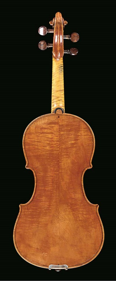 An interesting violin, Venetia