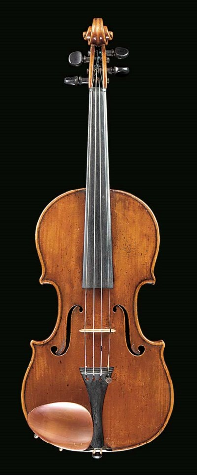 A violin by Bernardus Stoss, l
