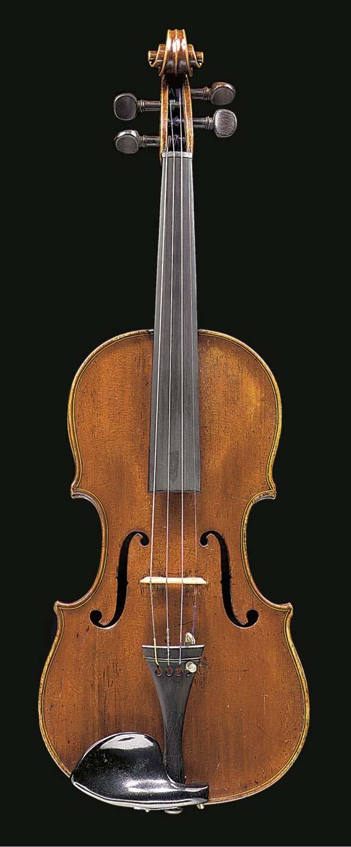 An English violin by Richard D