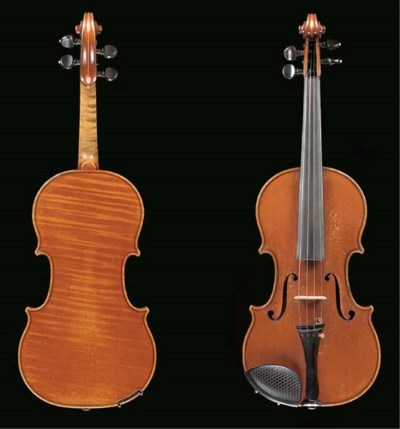 A violin by Giuseppe Fiorini,