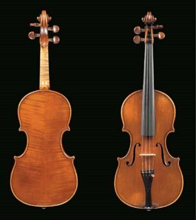 An Italian violin by Enrico Ma