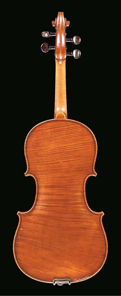 An English viola by Joseph Cha