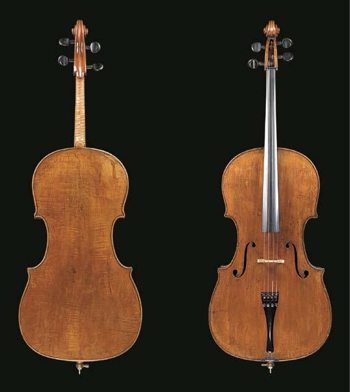 An interesting Italian violonc
