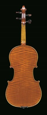 A French violin, workshop of H