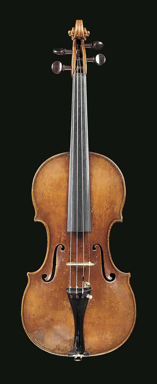 A violin by Johann Georg Thir,