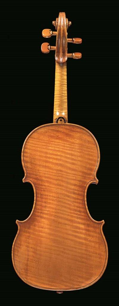 An 18th century Dutch violin,