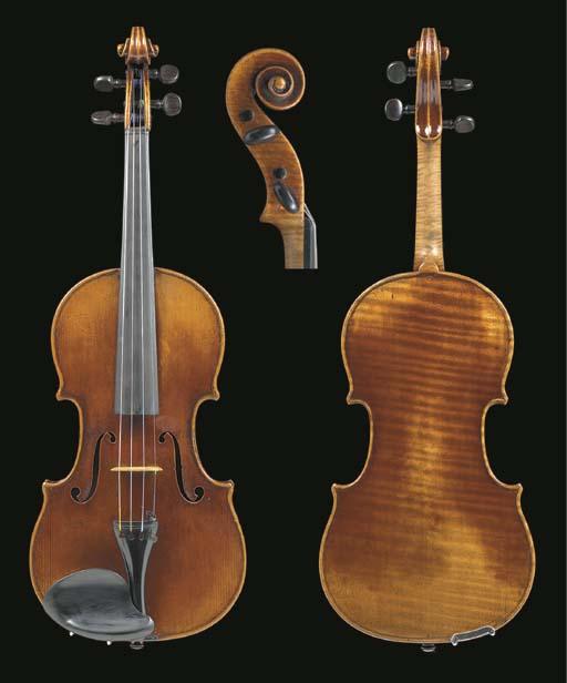 A fine French violin, Paris, c