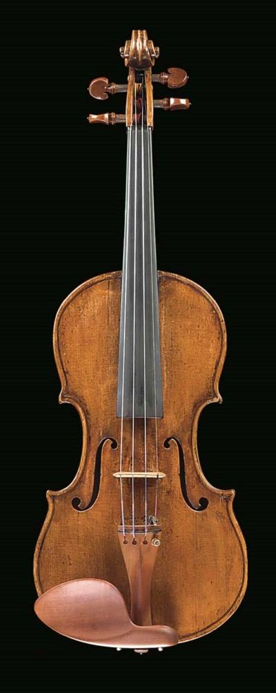 An interesting violin, c.1800,