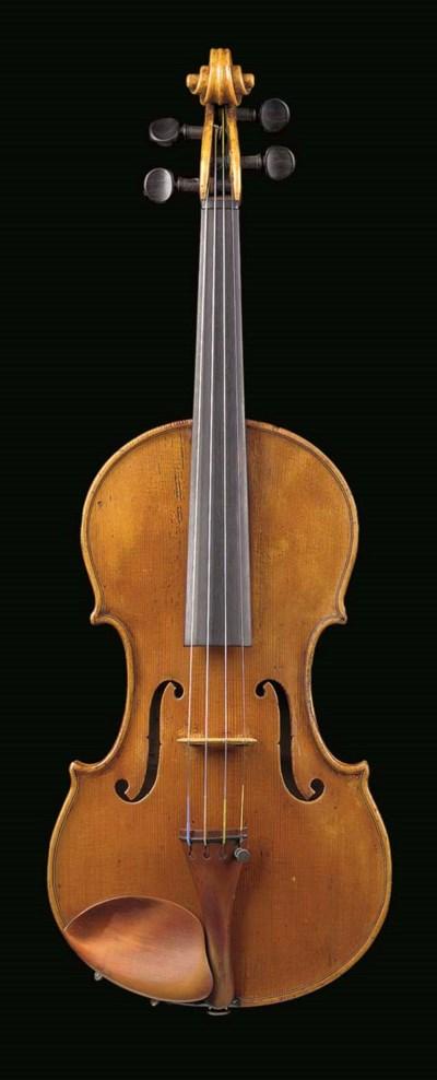 An Italian violin by Valentino