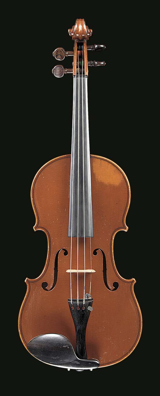 A French violin by Gand and Be