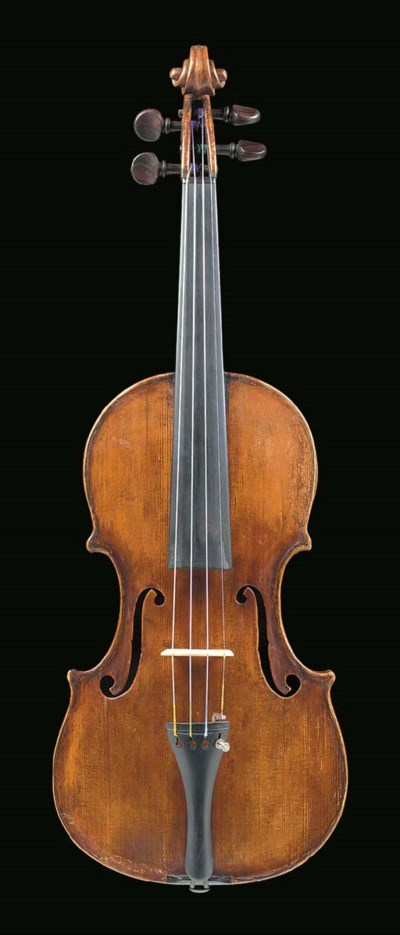 A violin labelled Joseph Guarn