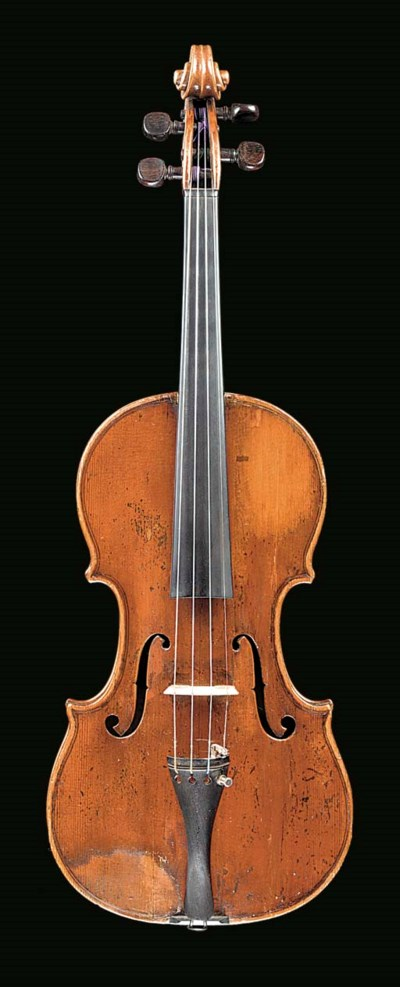 An interesting violin labelled