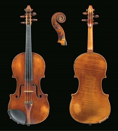 An interesting violin attribut
