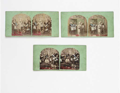 Masonic stereocards