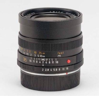 Summicron-R f/2 35mm. no. 3365