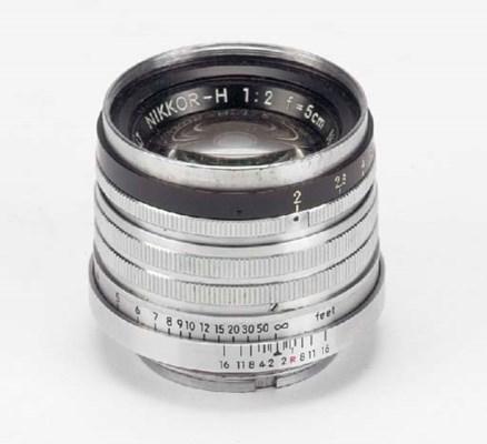 Nikkor-H f/2 5cm. no. 758647