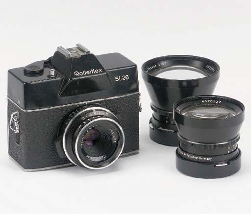 Rolleiflex SL26 no. 3500084