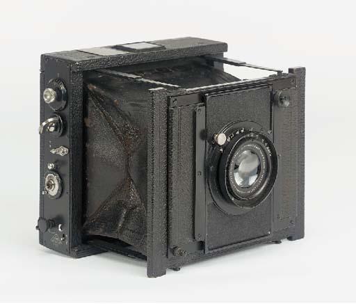 Anschütz press camera no. 3850
