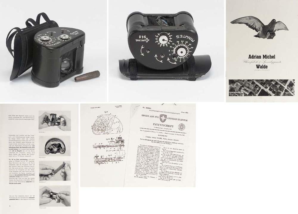 Pigeon camera model A no. 948