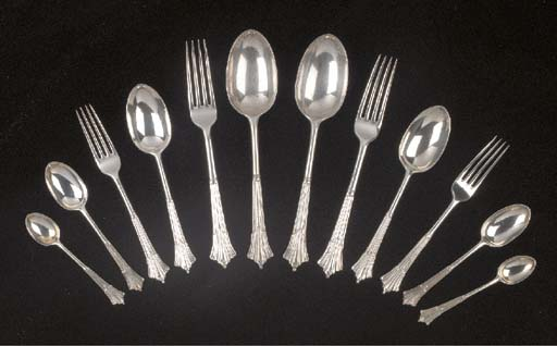 A Canteen of Victorian Silver