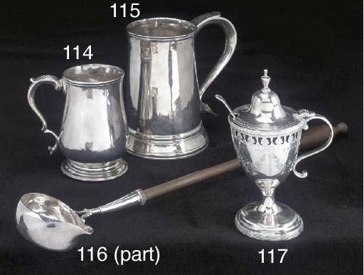 A George III Silver Mustard Po