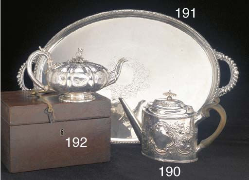 A William IV Silver Teapot