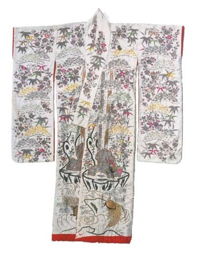 A wedding robe (furisode) of i