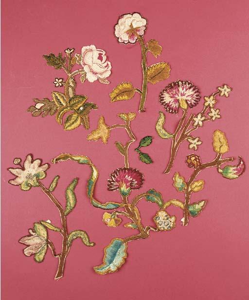 A collection of spot motifs, r