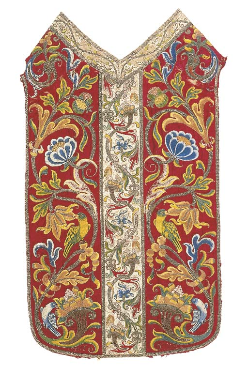 A magnificent chasuble in two