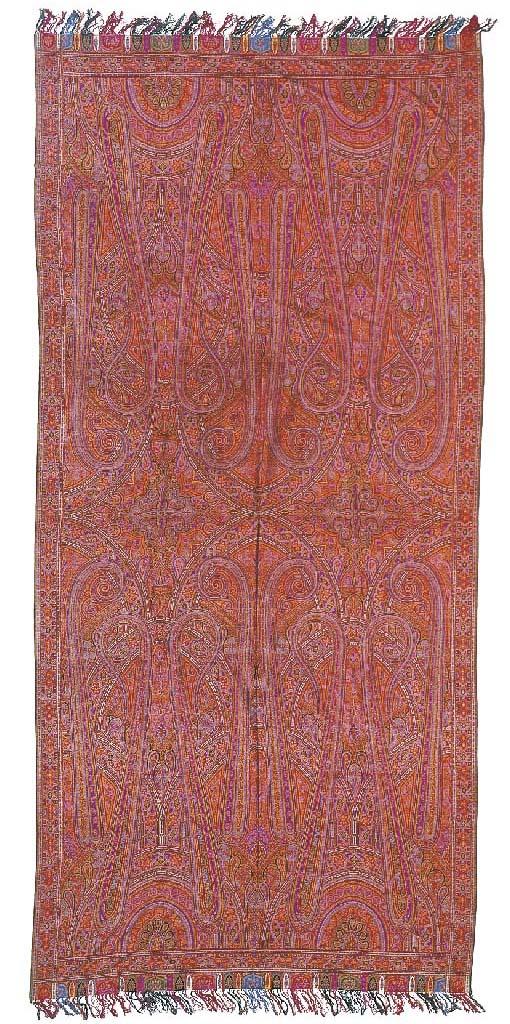 A long silk and wool 'Paisley'