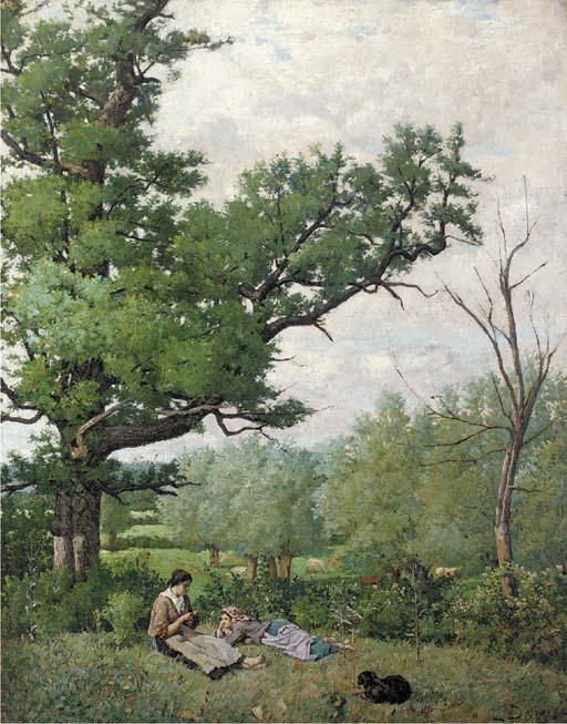 Louis Dauvergne (French, 1828-